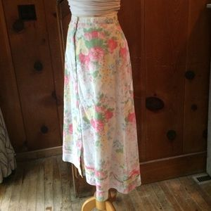 Lauren Ralph Lauren Cotton Floral Maxi Skirt